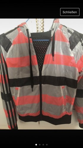 Adidas NEO Reversible Jacket black-red
