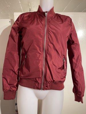 Brasi&Brasi Blouson rouge foncé-rose