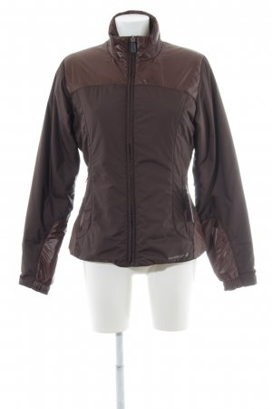 Reversible Jacket dark brown casual look
