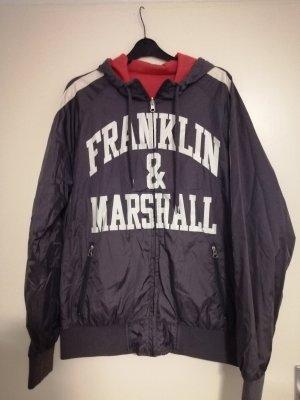 Franklin & marshall Giacca mezza stagione grigio-rosso