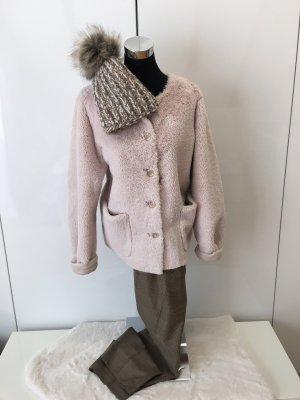Minx by Eva Lutz Fake Fur Jacket natural white
