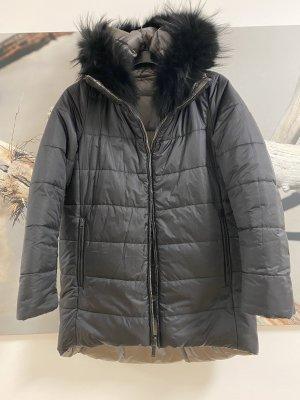 Baldinini Veste réversible noir-argenté