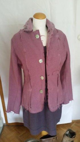 Wollen blazer lila
