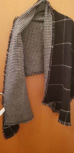 Accessoires Bufanda de flecos blanco-negro