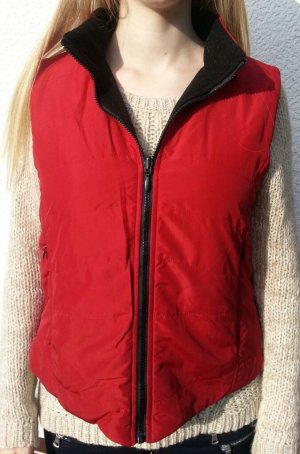 Reversible Vest black-red