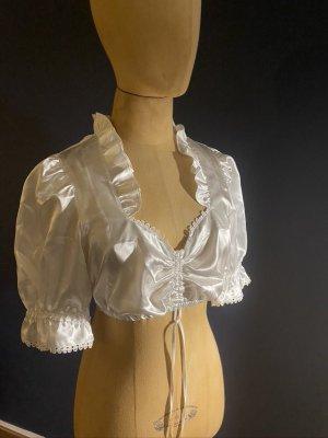 Wenger Folkloristische blouse wit