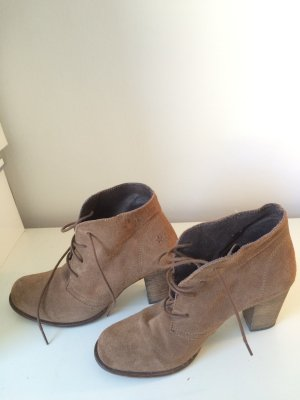 appetizer Ankle Boots light brown leather