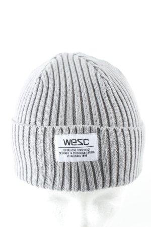 Wesc Berretto grigio chiaro stile casual