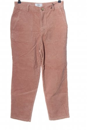 Wesc Corduroy Trousers pink casual look