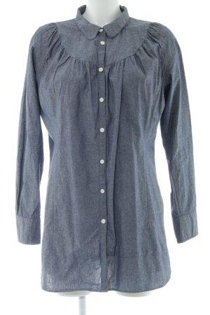 Wesc Long-Bluse blau Casual-Look
