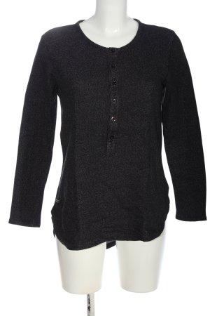 Wesc Koszulka z długim rękawem jasnoszary Melanżowy W stylu casual