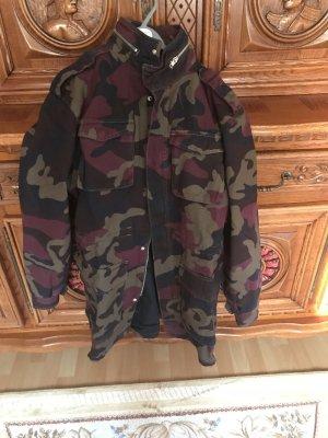 WESC Parka Camouflage Jacke Gr.XS