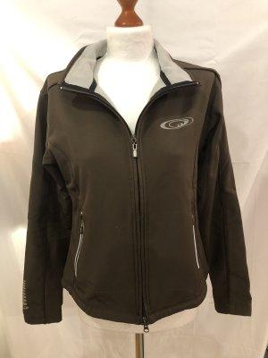 Softshell Jacket dark brown-brown