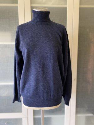 Westbury Pullover in cashmere blu