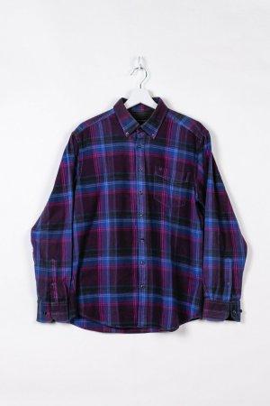 Westbury Camicia a maniche lunghe viola-blu