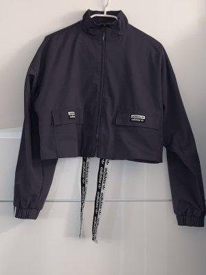 Adidas Chaleco deportivo negro-violeta oscuro