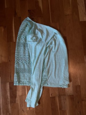 Kik Knitted Vest baby blue-turquoise