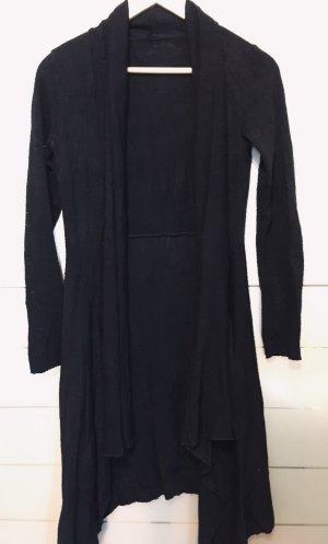 Daniel Stern Gilet long tricoté noir