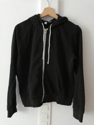 H&M Smanicato con cappuccio bianco-nero