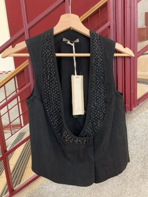 Joys Gilet réversible noir coton