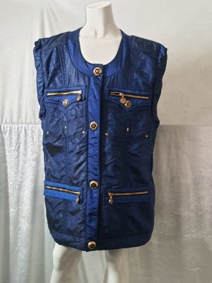 Monte Carlo Quilted Gilet blue