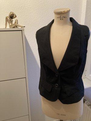 Vero Moda Gilet de costume noir