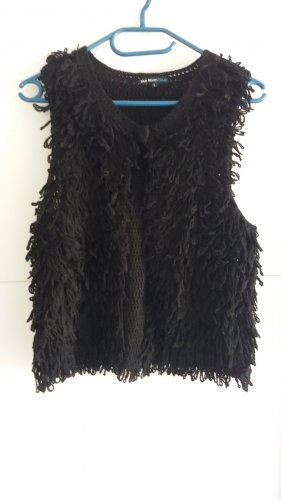 Veste à franges noir
