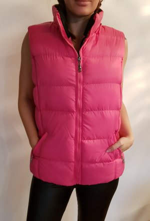 no name Down Vest violet-pink mixture fibre