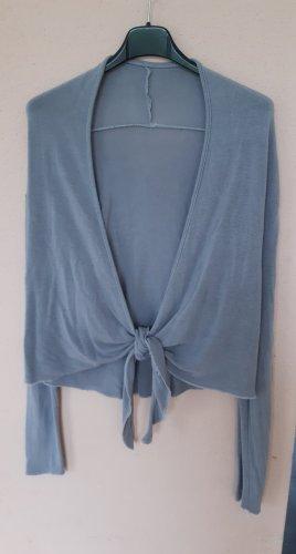 Gilet tricoté argenté viscose