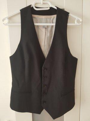 H&M Waistcoat black