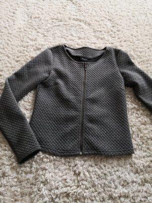 Vila Gilet tricoté gris