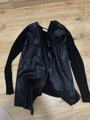 Zara Fleece vest zwart