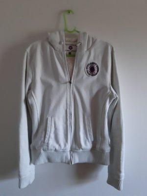 Hooded Vest natural white