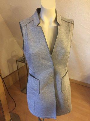 Bianca Gilet matelassé gris clair polyester