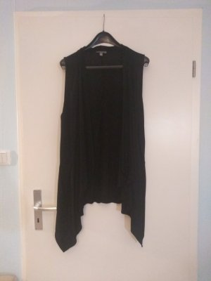 Bandolera Long Knitted Vest black