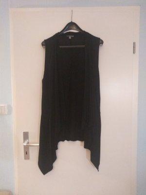 Bandolera Gilet long tricoté noir