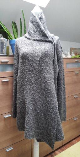Devided von H&M Gilet long tricoté gris