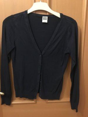 Vero Moda Knitted Vest dark blue viscose