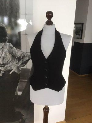 H&M Omkeerbaar vest zwart