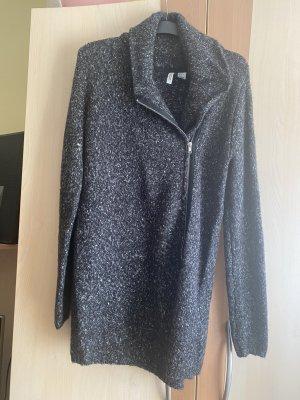 H&M Chaleco con capucha gris antracita-gris oscuro
