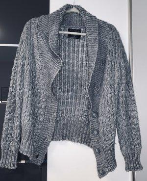 Guess Smanicato lavorato a maglia grigio