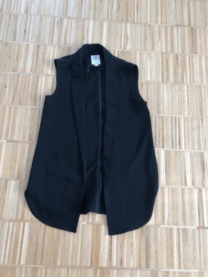 s.Oliver Long Knitted Vest black