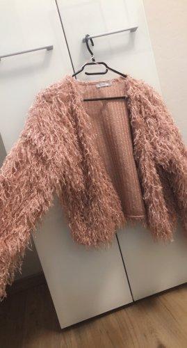 Bershka Fake Fur Vest multicolored