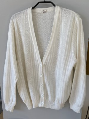 Knitted Vest natural white