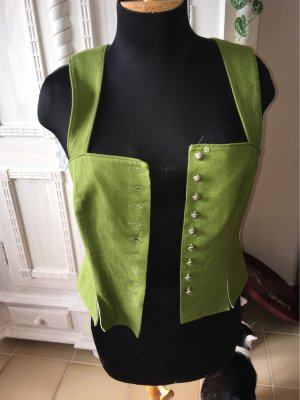 Hofer Traditional Vest grass green