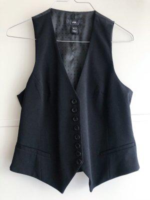 H&M Chaleco acolchado negro