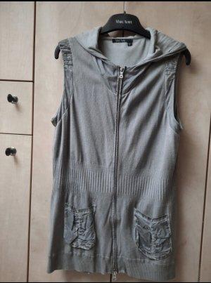 Marc Aurel Smanicato con cappuccio grigio chiaro