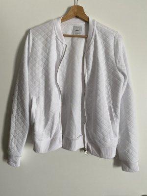 Only Smanicato lavorato a maglia bianco