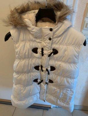 Multiblu Hooded Vest white