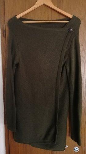 Only Gebreid vest khaki